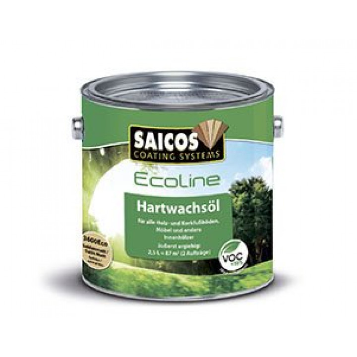 Масло с твердым воском EcoLine Hartwashsol
