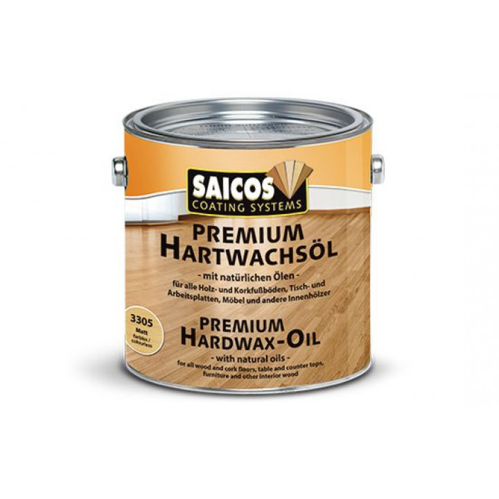 Масло с твердым воском Premium Hartwachsöl Цветное
